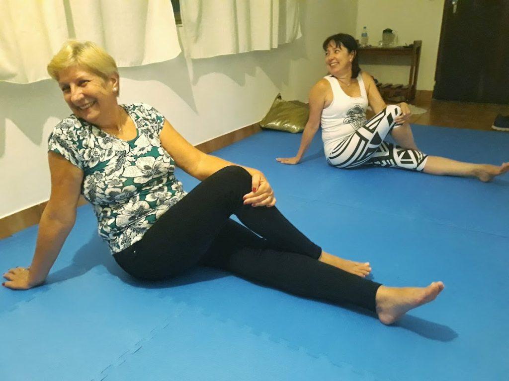 Aula de Yoga no Espaço Gitá
