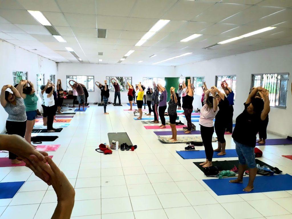 Aula de Yoga na Subprefeitura Vila Prudente